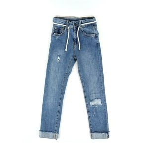 ZARA distressed denim, girl's size 7